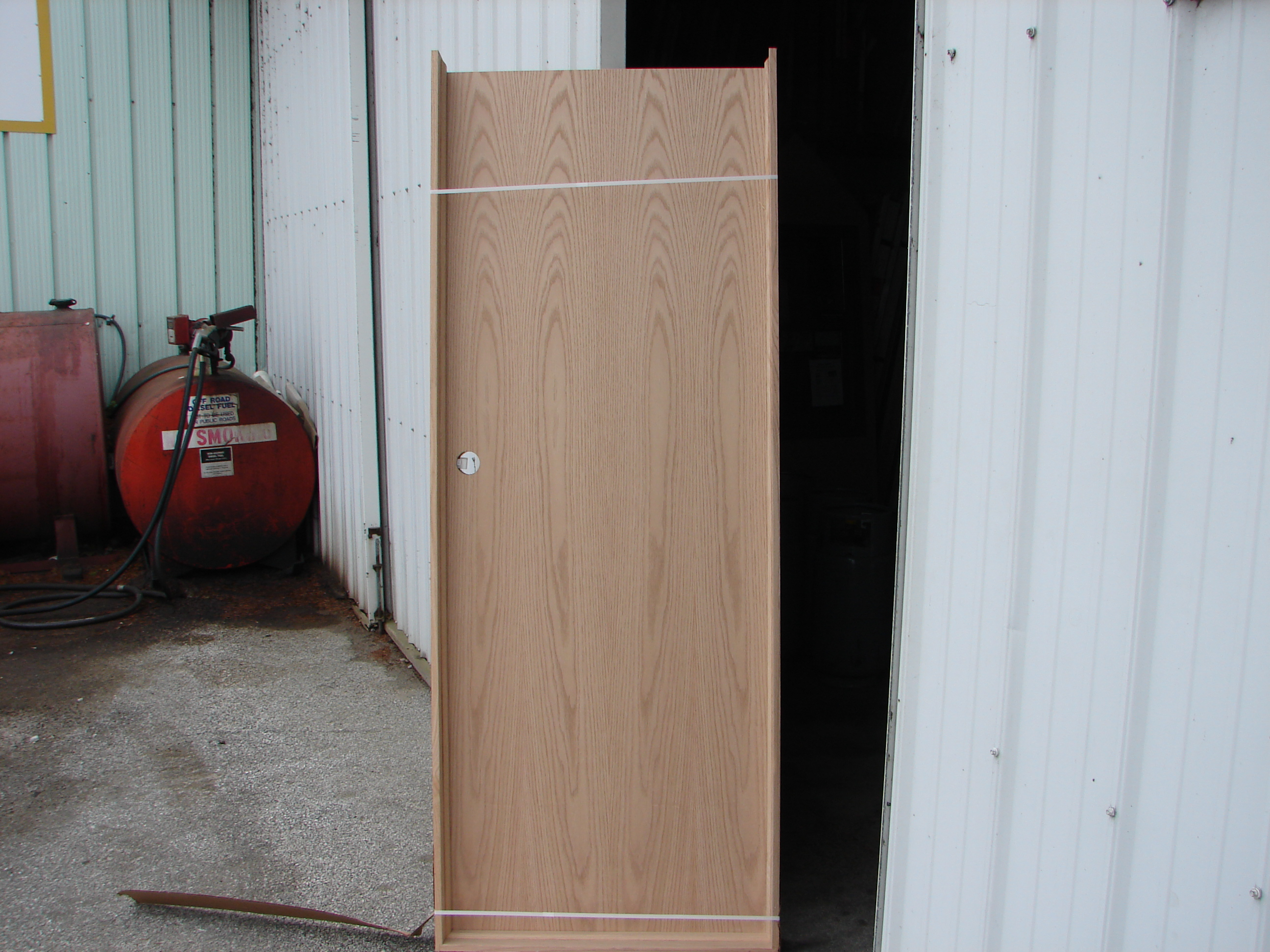 Flush Oak Prehung Door